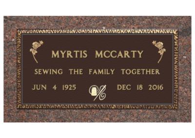 Myrtis Mccarty