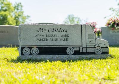 Granite Grave Markers